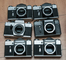 Collection of 6 x Eastern bloc camera