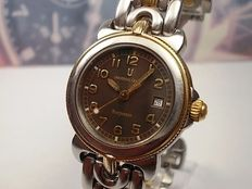 Universal Geneve Corporate model 644.700 - Swiss made 2 tone ladies quartz wrist watch c.2000s'