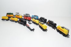 Fleischmann/Roco H0 – 16-piece tank train (set 38)