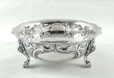 Silver sugar bowl, Robert Harper, London, 1863