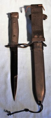 Bayonet for M16, Indonesia original, in very good to new condition, - 20th century