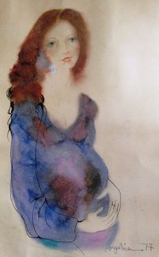Unknown artist – Pregnant Woman