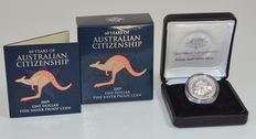 Australia - 1 dollar 2009 '60 Years of Australian Citizenship' - fine silver