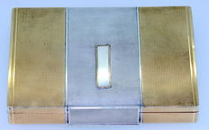 Asprey & Co - Solid Silver Vanity Box, Made in London 1939