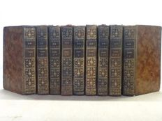 Alexis Piron - Oeuvres completes. Published by Rigoley de Juvigny - 9 volumes - 1776