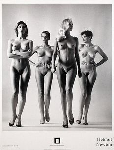 Helmut Newton - They are coming - from the series Big Nudes