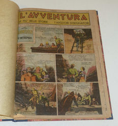 L'Avventura - a complete series, from no. 1 to no. 227 - (1944/49)