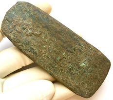 Early Bronze Age Copper Flat Axehead - 101 / 43 mm