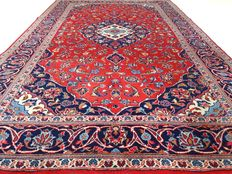 Keshan – 287 x 198 cm – Persian rug with vibrant colours in beautiful condition