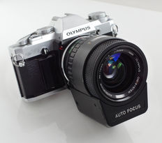 Olympus OM30 with 1:4 35-70mm AF, first Autofocus objective by Olympus