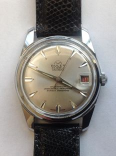 Buler Calendar – mens' watch - 1970s, in good condition
