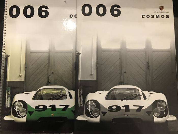 Porsche Official Historic Calendar Collector Edition 2006