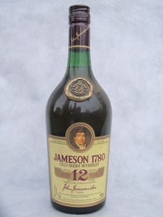 Jameson 1780 - 12 years old. 1980s bottling.