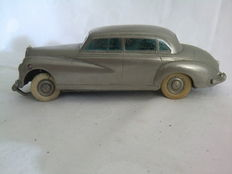 Prämeta, British Zone Germany - Length 14 cm - Metal Mercedes 300 with clockwork motor, 1951