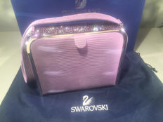 Swarovski - Very beautiful lilac handbag set with stones