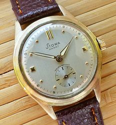 Stowa Parat 15 rubies - men's wristwatch - from the 50s