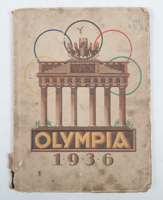 Picture albums; Olympia 1936 – 1936