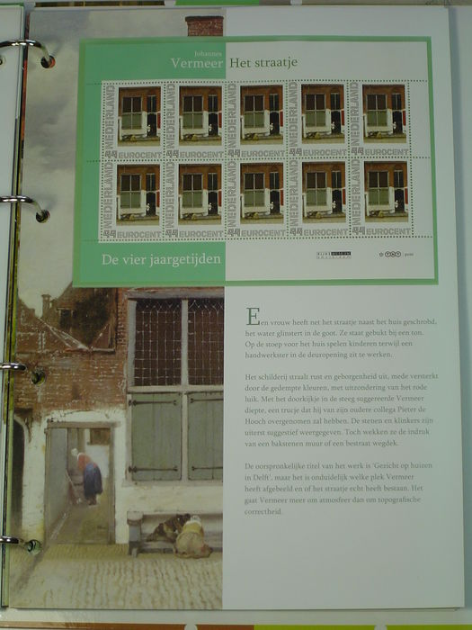 the netherlands 2010 the four seasons collectors album personal stamps
