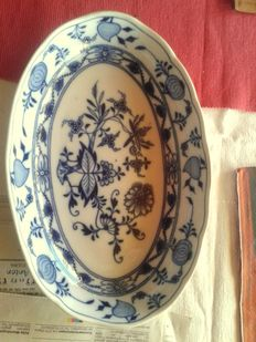 Meissen Germany - porcelain presentation bowl