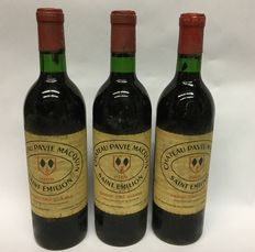 1969, Chateau Pavie Macquin, Saint Emilion, 3 flessen
