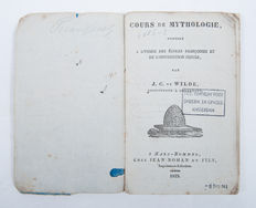 Lot with 2 books about mythology - 1833 / 1854