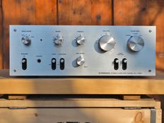 Pioneer SA-7300 integrated amplifier; 1976 vintage in fine, super sleek condition