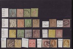 Switzerland 1854/1955 - collection on cards