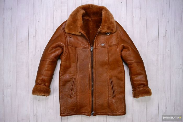 Armani Jeans - Shearling Leather Jacket