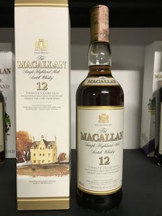 Macallan 12 years old - discontinued