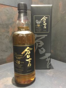 Kurayoshi Pure Malt 18 Year Old Japan Exclusive Limited Release