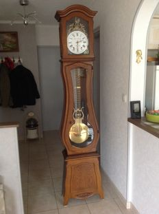 Morez grandfather clock - 2nd half of the 20th century