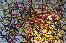 Rick Triest - The contemporary movement compositions - Yellow black and red