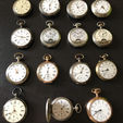 Pocket Watches Auction (Multiple)
