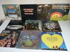 Lot with excellent Classic Rock/Blues Rock/Psychedelic Rock from the 60's and 70's: the Band (2x), Levon Helm,Country Joe & the Fish (2x), the Lovin Spoonful, theTurtles, Mink de Ville, Dr. Hook (2x), 10 albums in total