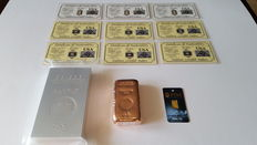 Gold, Silver, Copper & Aluminium Bullion Investment Pack.
