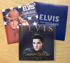 Rare Promo Cd - Elvis Presley With The Royal Philharmonic Orchestra - Big Hunk O' Love (And 2 Other Cd's)