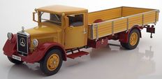 CMC - Scale 1/18 - Mercedes-Benz LO 2750 Pritsche 1934 -1938 - Colour: Yellow / Red