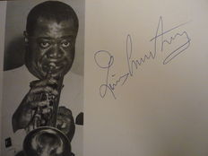 Special For Autographs Collectors:  Jazz Music  Louis Armstrong With His Band