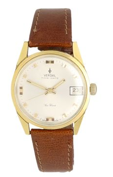 Verdal Time-Date - mens' wristwatch