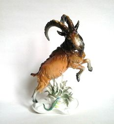Karl Ens - Mountain Goat porcelain