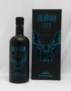 Tomatin Cu Bocan 27 years old 1988 - Limited Edition - bottle number 1368 - Cask Strength 51.5% 700ml