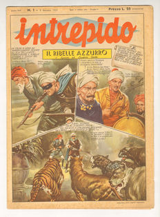 Intrepido comic magazine - a complete sequence from no. 1 to no. 45, year 1951