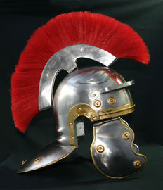Asterix & Obelix - Centurio replica helmet - steel helmet Roman design like in the movie