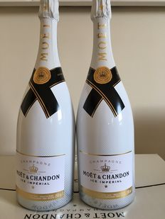 Moet Chandon Ice Demi-Sec – 2 Magnums (1,5ltr) OHC