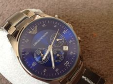 Emporio Armani Blue Chronograph AR5860 - Men's watch - 2010's