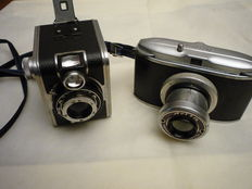 Lot consisting of FERRANIA cameras:  Rondine and Delta