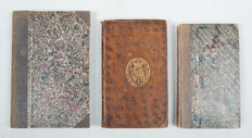 Children; Lot with 3 works on morality, manners and customs - 1818 / 1836