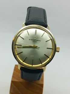 ETERNA-MATiC 1000 vintage solid gold wristwatch - end of 1960s