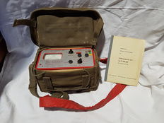 Training Geiger counter, German army.
