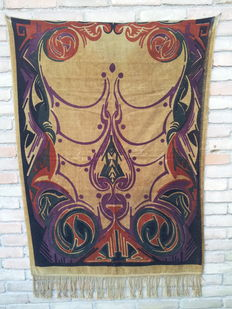 Art Deco tapestry, Amsterdam School, Jaap Gidding style